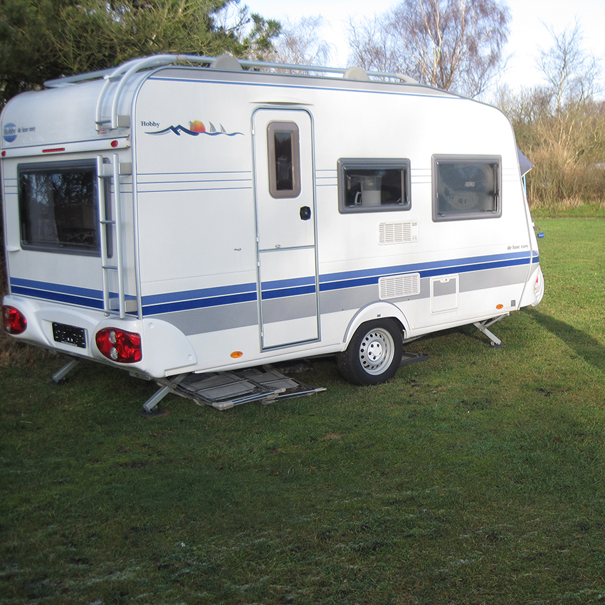 Campingvogne til udlejning på Arrild Ferieby Camping