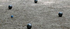 Petanque ved Arrild Ferieby Camping
