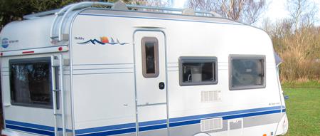 campingvogne til udlejning