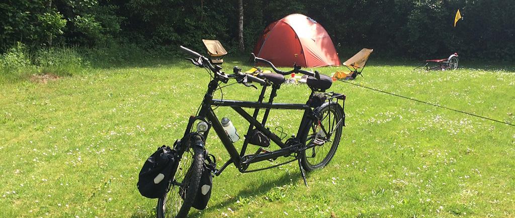 Fahrrad Camping