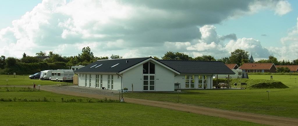 Neue Servicegebäude